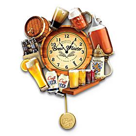 Brew Time Wall Clock