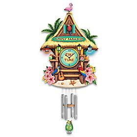Simply Paradise Wall Clock