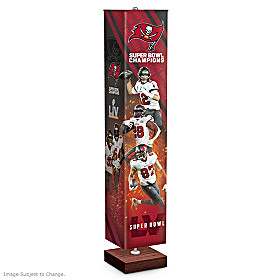 Tampa Bay Buccaneers Super Bowl LV Floor Lamp