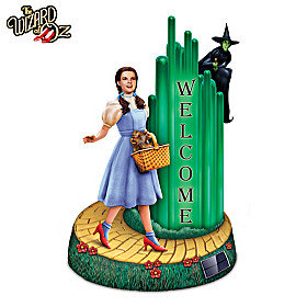 THE WIZARD OF OZ Solar Lit Welcome Sign