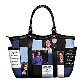 Kamala Harris Tote Bag