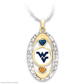 For The Love Of The Game Mountaineers Pendant Necklace
