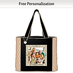 Our Family Is Forever Personalized Tote Bag