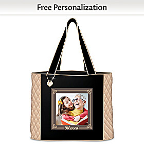 Blessed Personalized Tote Bag