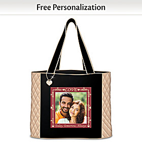 Love Today, Tomorrow, Always Personalized Tote Bag