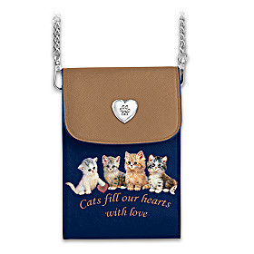 Cats Fill Our Hearts With Love Handbag