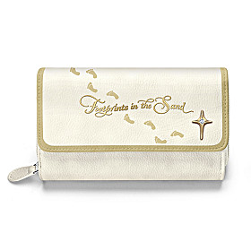 Footprints In The Sand Wallet