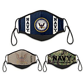 U.S. Navy Cloth Face Covering Set