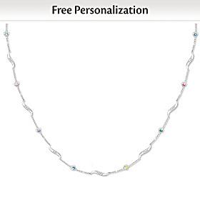 My Family, My Joy Personalized Necklace
