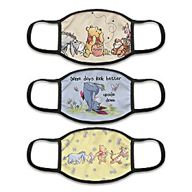 Winnie The Pooh Face Mask Set