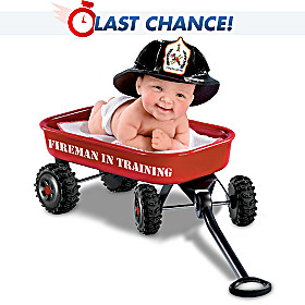 Fireman In Training Baby Doll