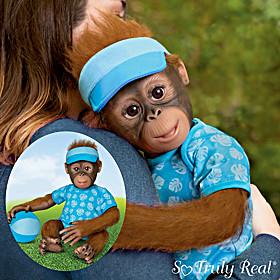 Abe's Hugs Monkey Doll