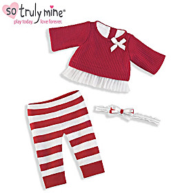 Holiday Sweater Baby Doll Accessory Set