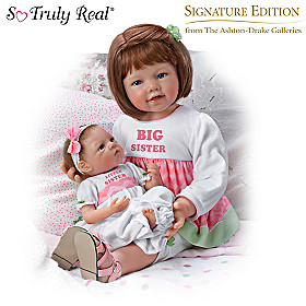 A Sister's Love Child And Baby Doll Set