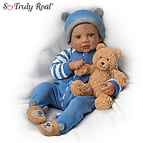Calvin And Teddy Lifelike Baby Doll