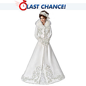 Winter Romance Bride Doll
