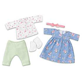 Fun Floral Fashions Baby Doll Accessory Set