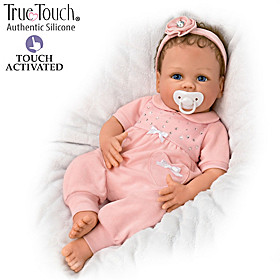 Chloe TrueTouch Authentic Silicone Interactive Baby Doll