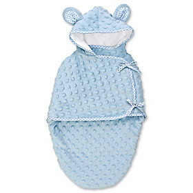 Blue Bear Bunting Baby Doll Accessory
