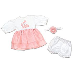 Hopping Into Spring Baby Doll Accessory Set