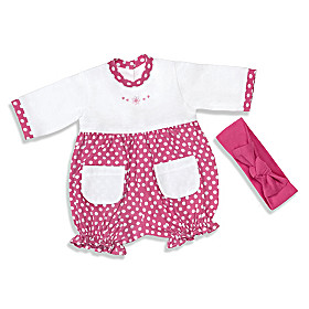 Raspberry Romper Baby Doll Accessory Set