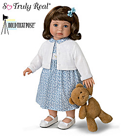 Madison And Teddy Child Doll And Plush Bear Set