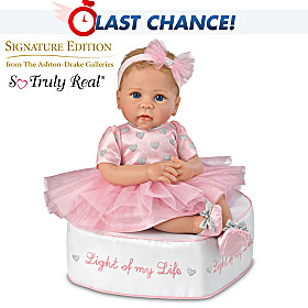 Light Of My Life Baby Doll And Ottoman Set