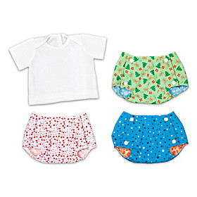 Diaper Covers & Tee-Shirt Baby Doll Accessory Set