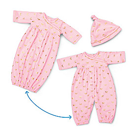 Nap And Play 2-In-1 Baby Doll Accessory Set