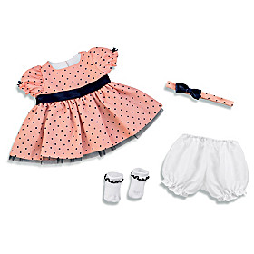 Perfect Party Dress Baby Doll Accessory Set