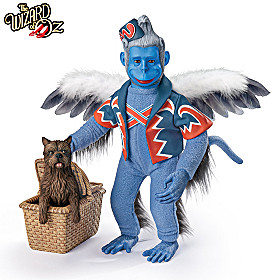 WINGED MONKEY With TOTO Portrait Figure Set