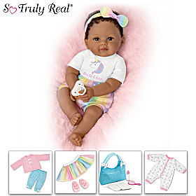 One-Of-A-Kind Ciara Baby Doll And 10-Piece Accessory Set