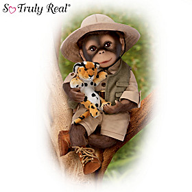 Milo The Safari Monkey Doll