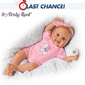 Llama Love Baby Doll
