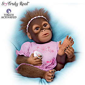 Cooing Cora Monkey Doll