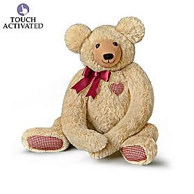 Hugs From The Heart Plush Teddy Bear