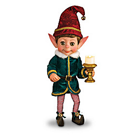 Charlie The Christmas Elf Doll