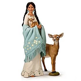 Deer Maiden Of The Morning Star Portrait Doll