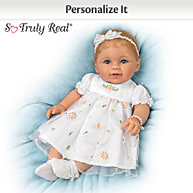 Grandma's Pearls Of Wisdom Personalized Baby Doll
