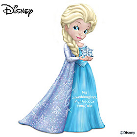 Disney My Granddaughter, My Precious Snowflake Figurine
