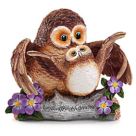 Owl Always Watch Over You Figurine