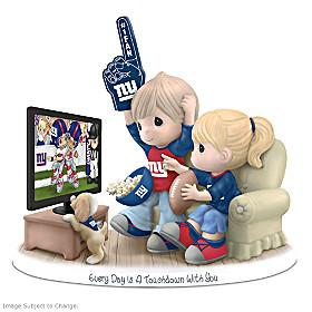 Every Day Is A Touchdown With You Giants Figurine