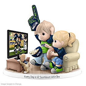 Every Day Is A Touchdown With You Seahawks Figurine