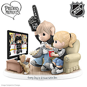 Every Day Is A Goal With You Los Angeles Kings® Figurine