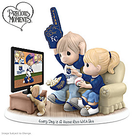 Every Day Is A Home Run With You Kansas City Royals Figurine