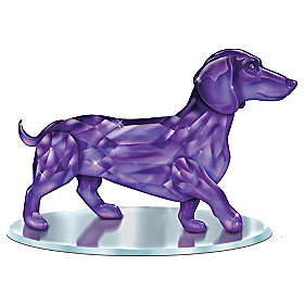 Radiance Of The Amethyst Figurine