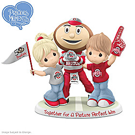 Together For A Picture Perfect Win Buckeyes Figurine