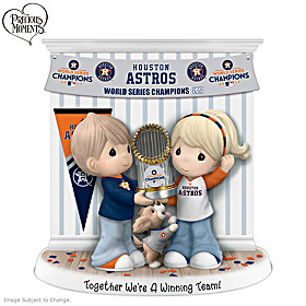 Together We're A Winning Team Houston Astros Figurine