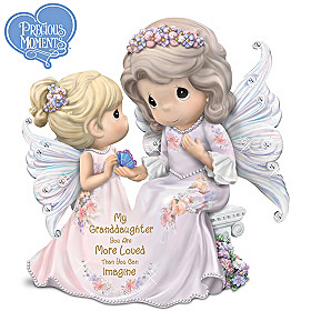 Granddaughter You Are More Loved Than Can Imagine Figurine