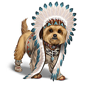Chief Little Paws Figurine